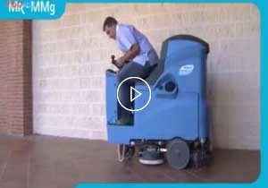 Mr85洗地吸干机